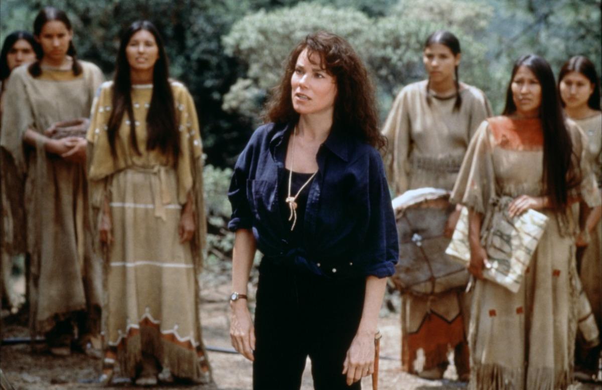 кадры из фильма Последний из племени людей-псов Барбара Херши,