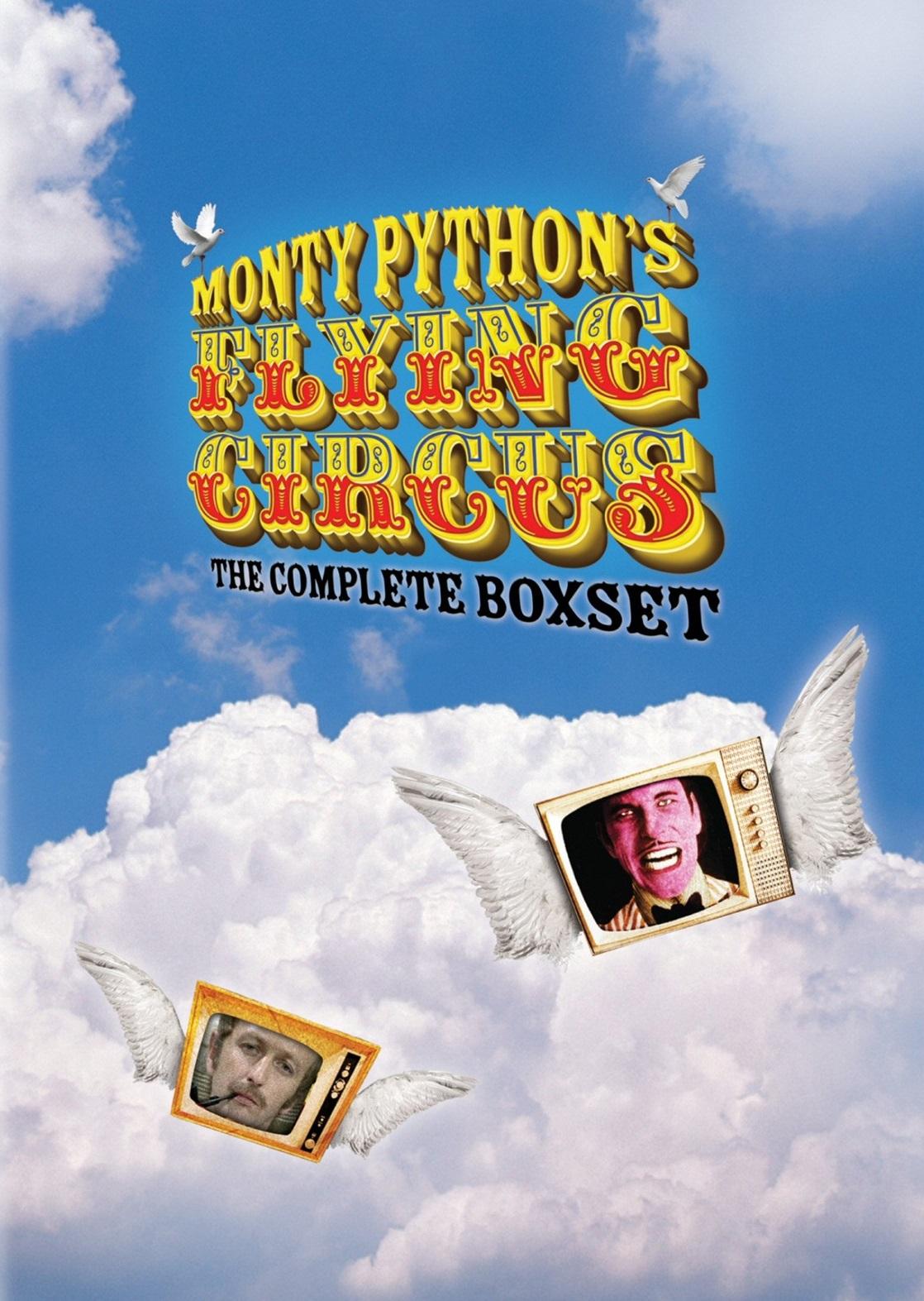 плакат фильма постер Монти Пайтон: Летающий цирк