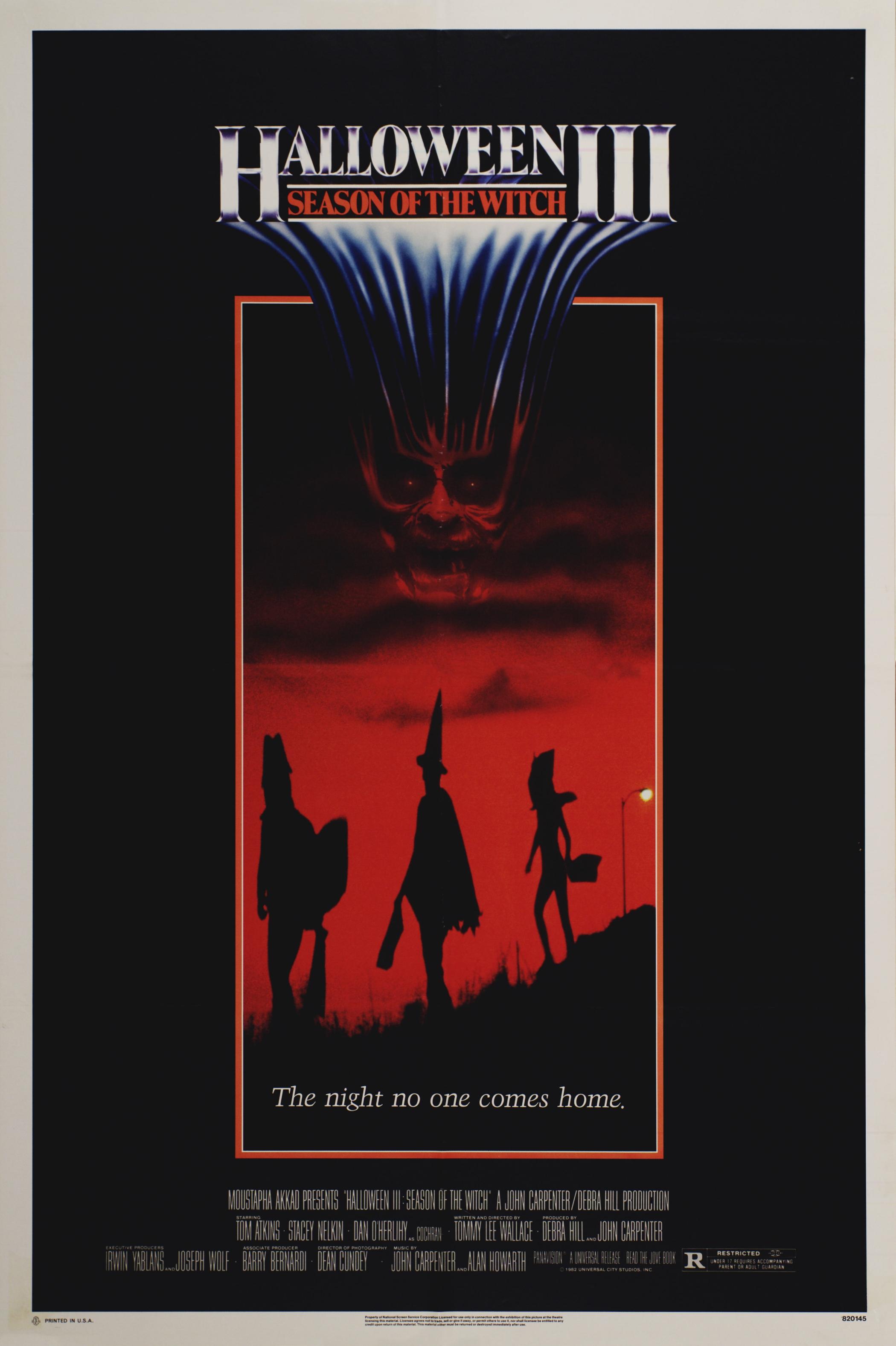 плакат фильма постер Хэллоуин 3: Сезон ведьм*
