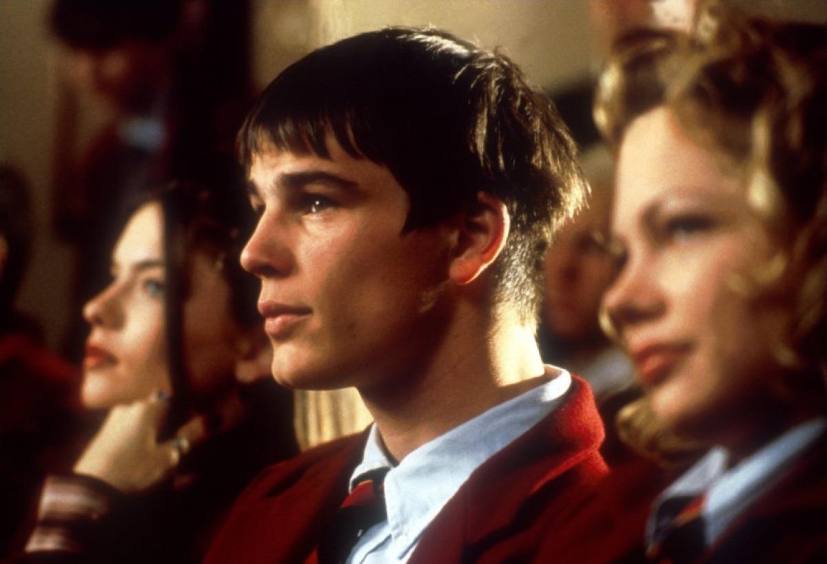 кадры из фильма Хэллоуин: Двадцать лет спустя Мишель Уилльямс, Джош Хартнетт, Джоди Лин О'Киф,