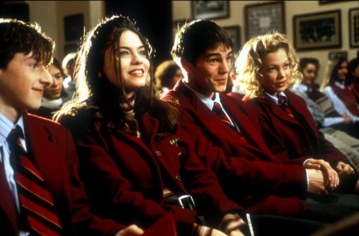кадры из фильма Хэллоуин: Двадцать лет спустя Мишель Уилльямс, Адам Хэнн-Берд, Джоди Лин О'Киф, Джош Хартнетт,