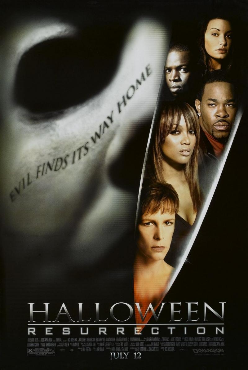 плакат фильма постер Хэллоуин: Воскрешение