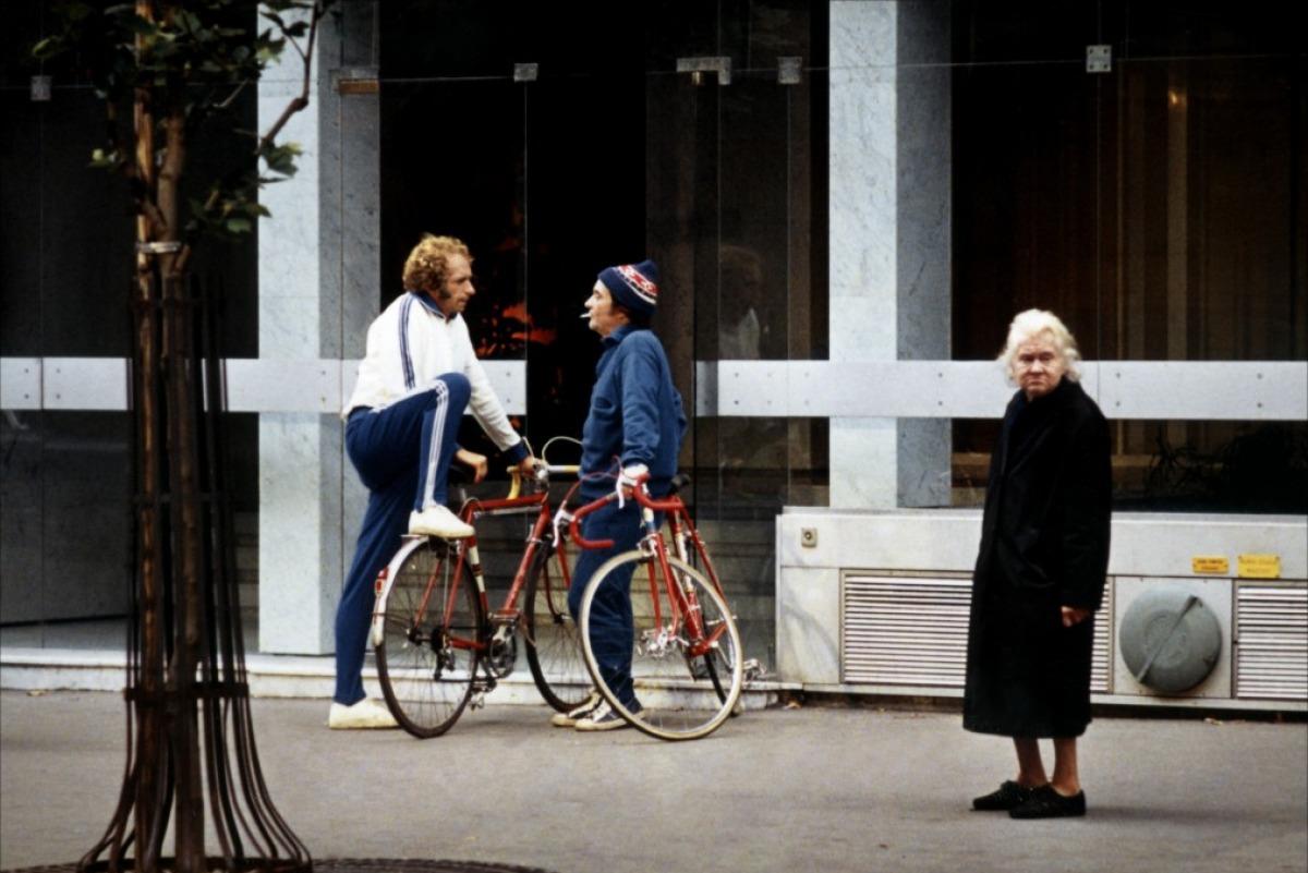 кадры из фильма Высокий блондин в черном ботинке Жан Карме, Пьер Ришар,