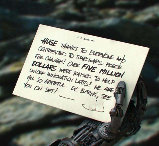 со съемок Звездные Войны: Пробуждение Силы