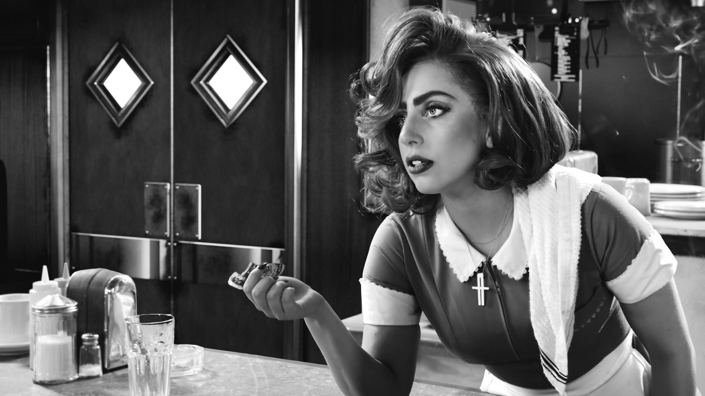 кадры из фильма Город грехов 2 Леди Гага,