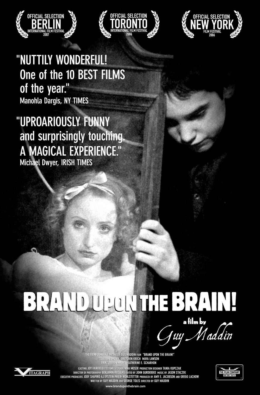 плакат фильма постер Клеймо на мозге