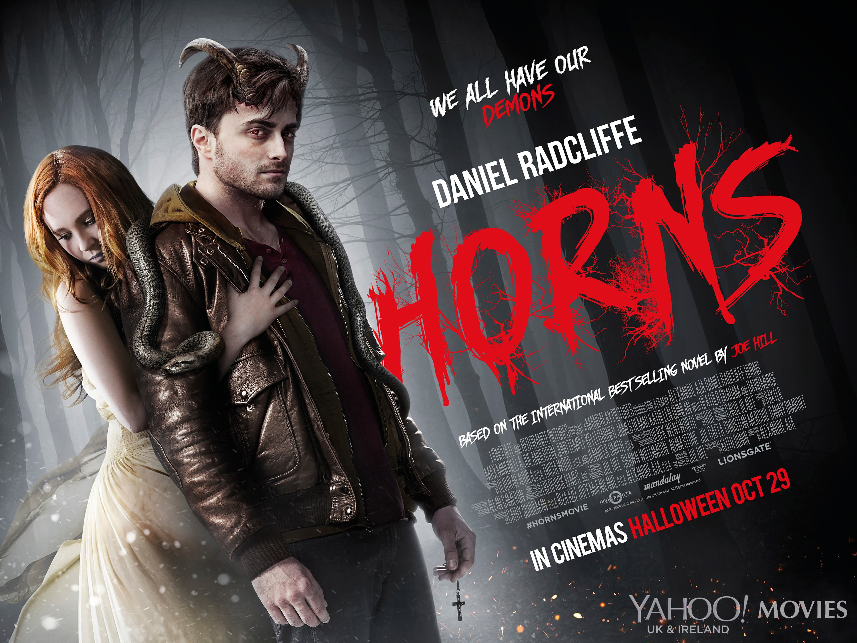 плакат фильма биллборды Рога