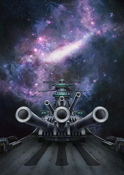 промо-слайды Космический линкор Ямато 2199: Звёздный ковчег*