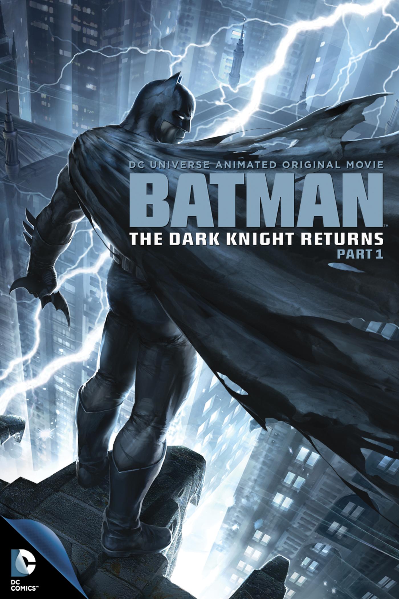 плакат фильма постер Темный рыцарь: Возрождение легенды. Часть 1