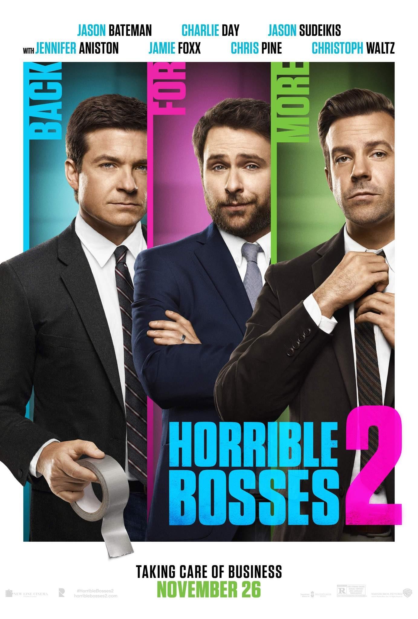 плакат фильма постер Несносные боссы 2