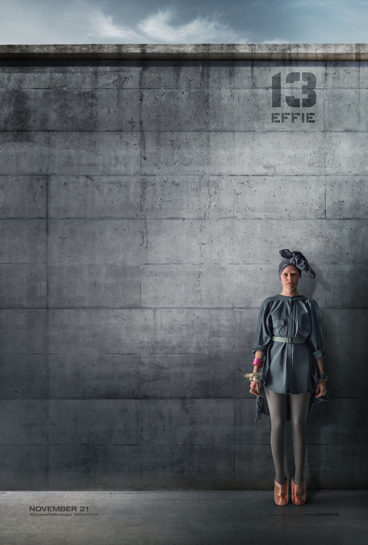 плакат фильма характер-постер Голодные игры: Сойка-пересмешница. Часть 1