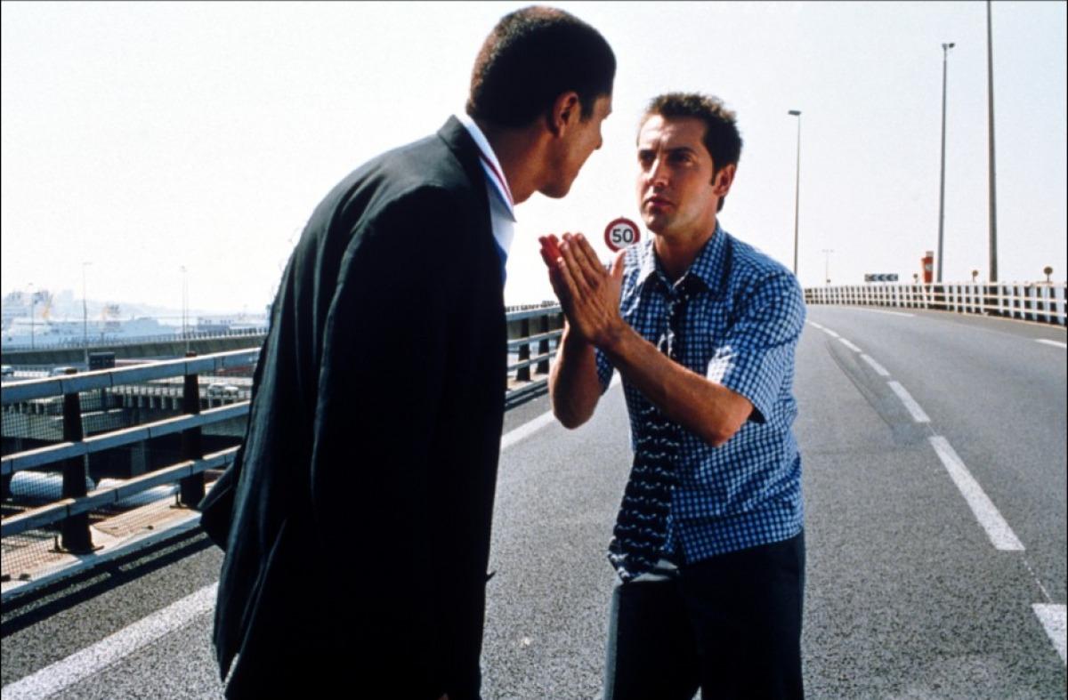 кадры из фильма Такси 2 Фредерик Дифенталь, Сами Насери,