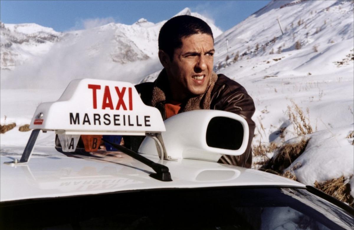 кадры из фильма Такси 3 Сами Насери,