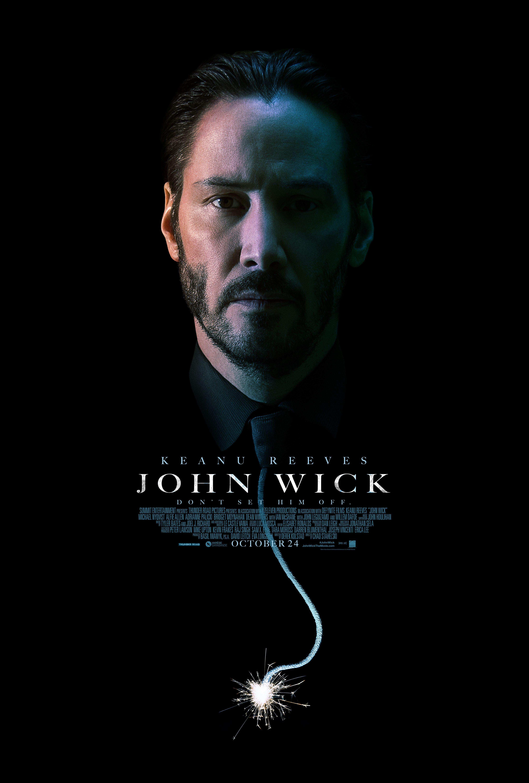 плакат фильма постер Джон Уик