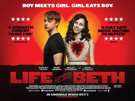 плакат фильма биллборды Если твоя девушка — зомби