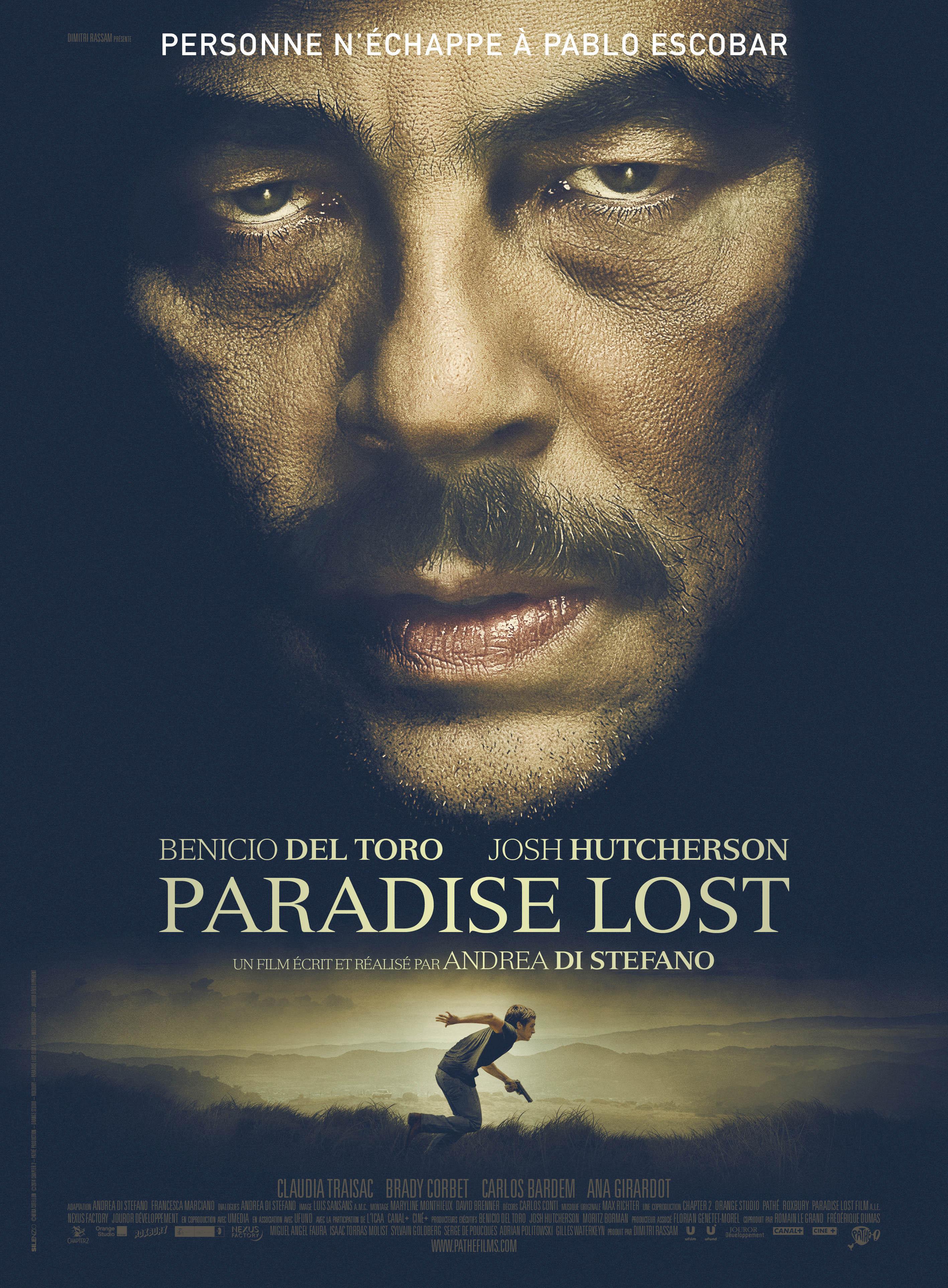 плакат фильма постер Эскобар. Потерянный рай