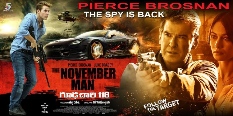 плакат фильма баннер Человек ноября