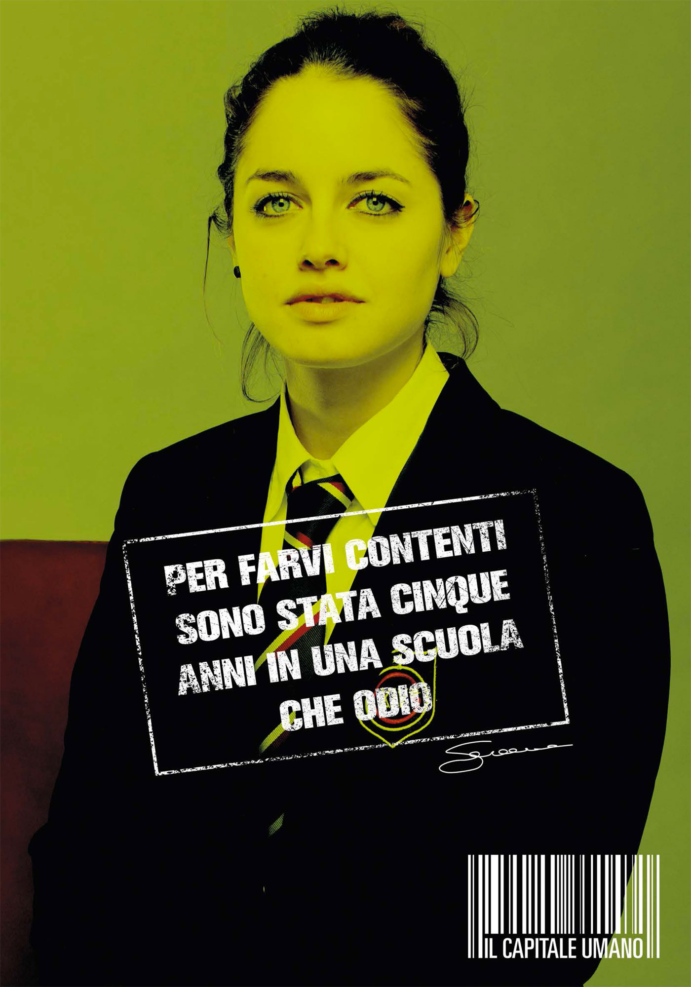 плакат фильма характер-постер Цена человека