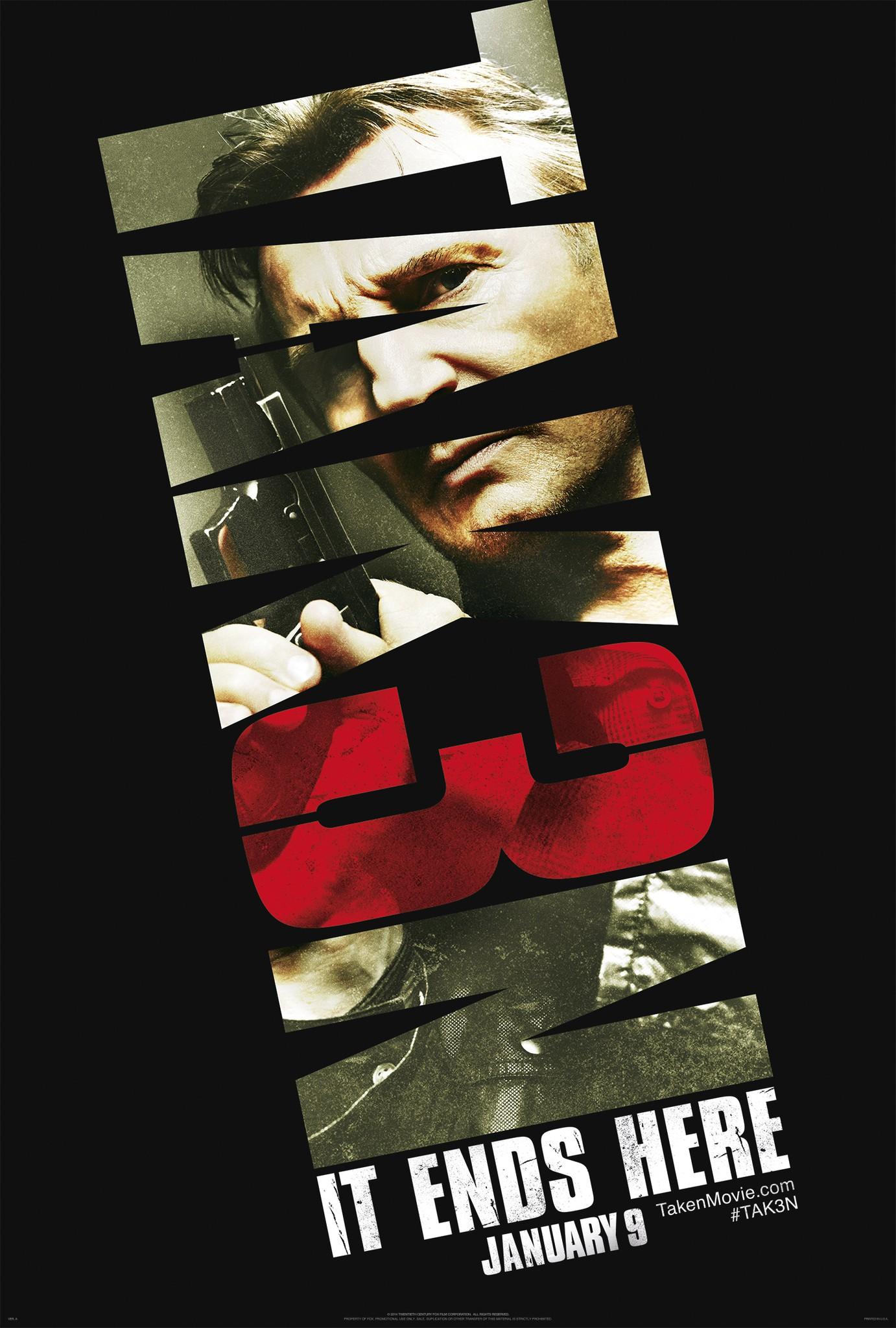 плакат фильма постер Заложница 3