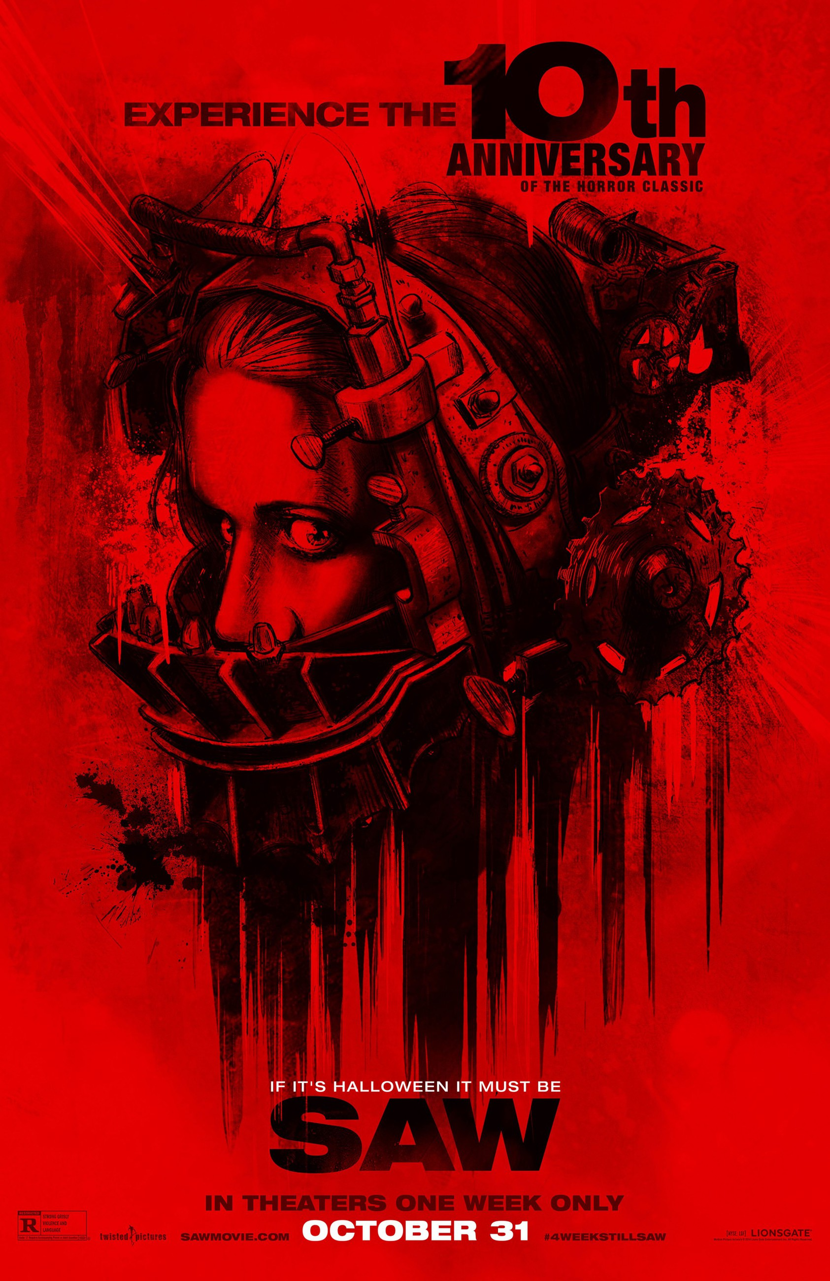 плакат фильма постер Пила. Игра на выживание