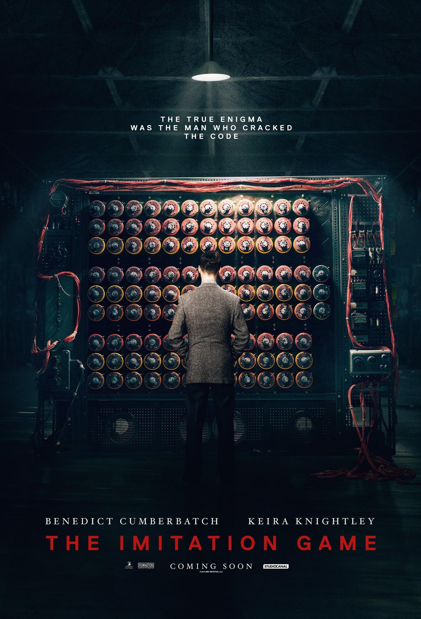 плакат фильма постер Игра в имитацию