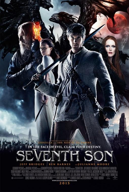 плакат фильма постер Седьмой сын