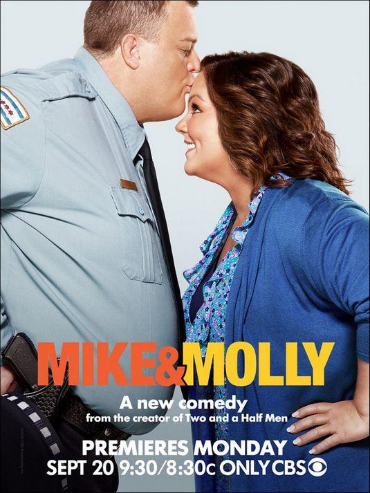 плакат фильма постер Майк и Молли