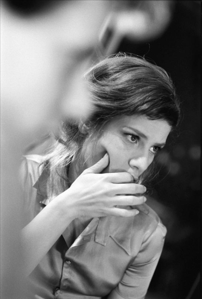 со съемок Красота по-французски Марина Фуа,