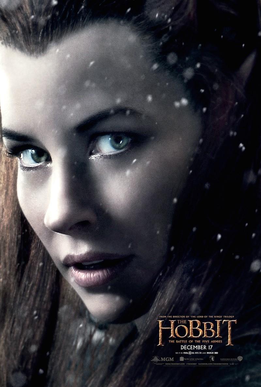 плакат фильма характер-постер Хоббит: Битва пяти воинств