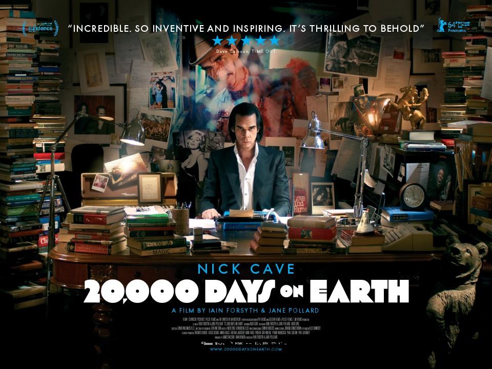 плакат фильма биллборды 20 000 дней на Земле