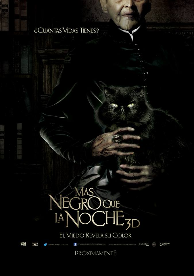 плакат фильма постер Темнее ночи 3D