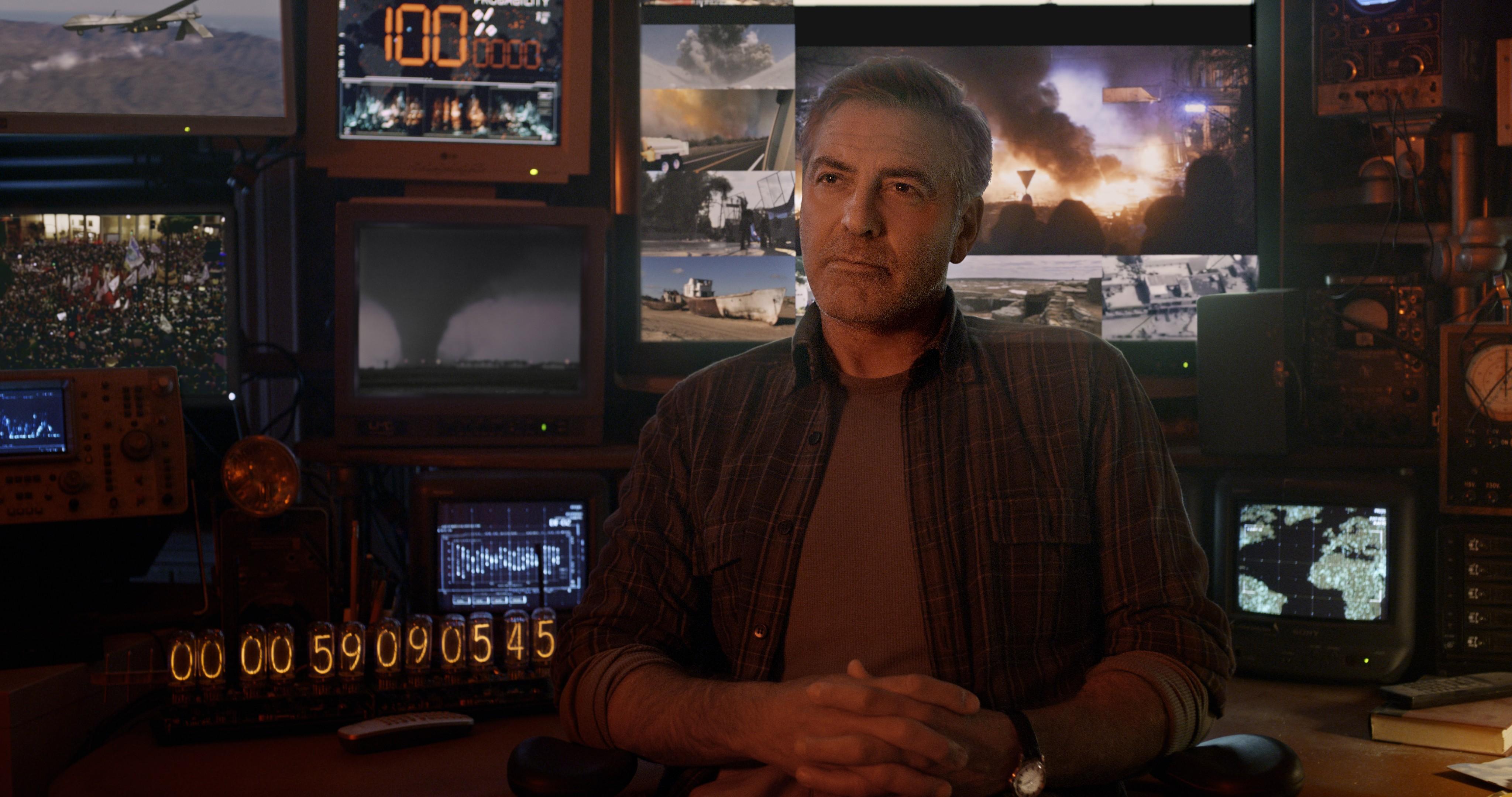 кадры из фильма Земля будущего Джордж Клуни,