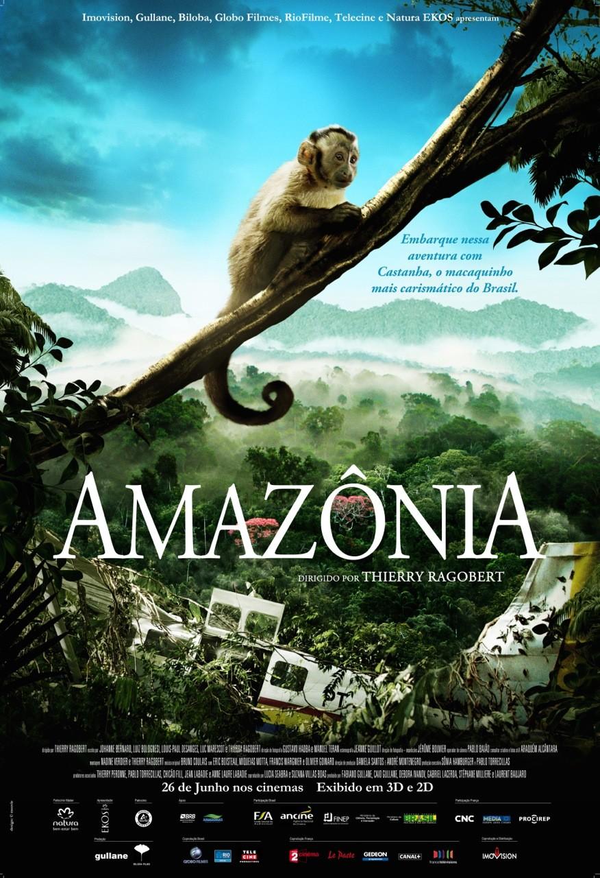 плакат фильма постер Амазония: Инструкция по выживанию