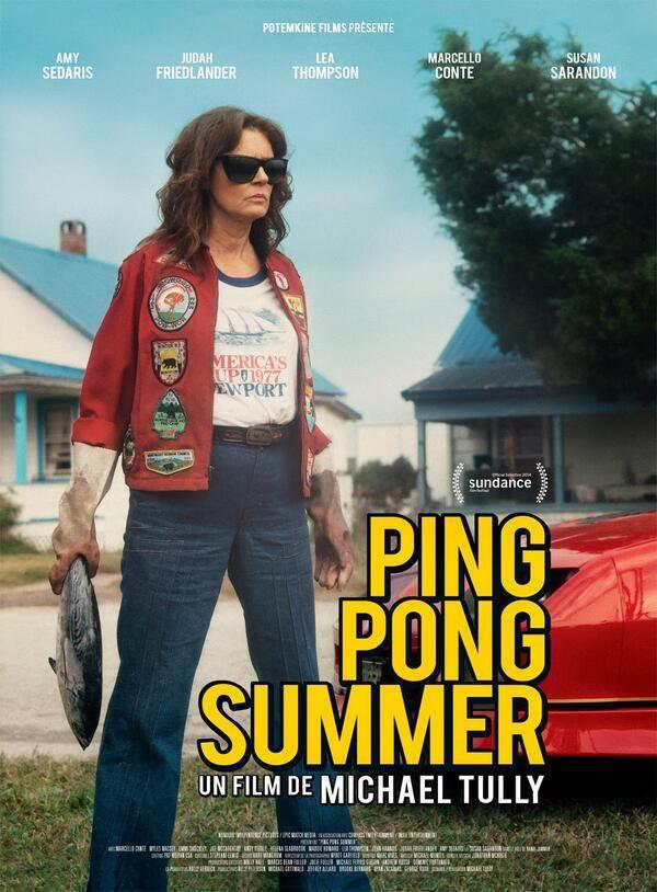 плакат фильма постер Мое лето пинг-понга