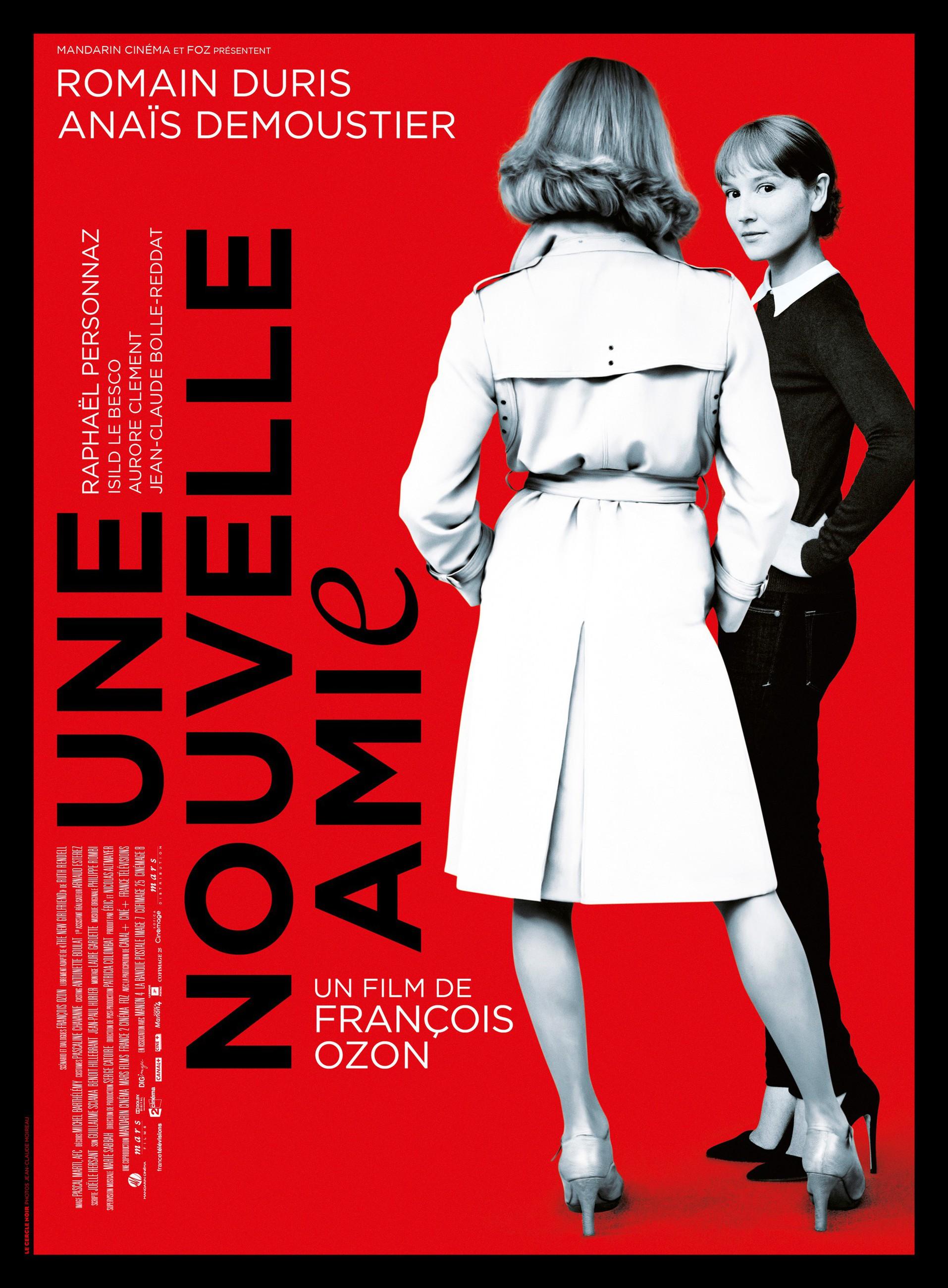 плакат фильма постер Новая подружка