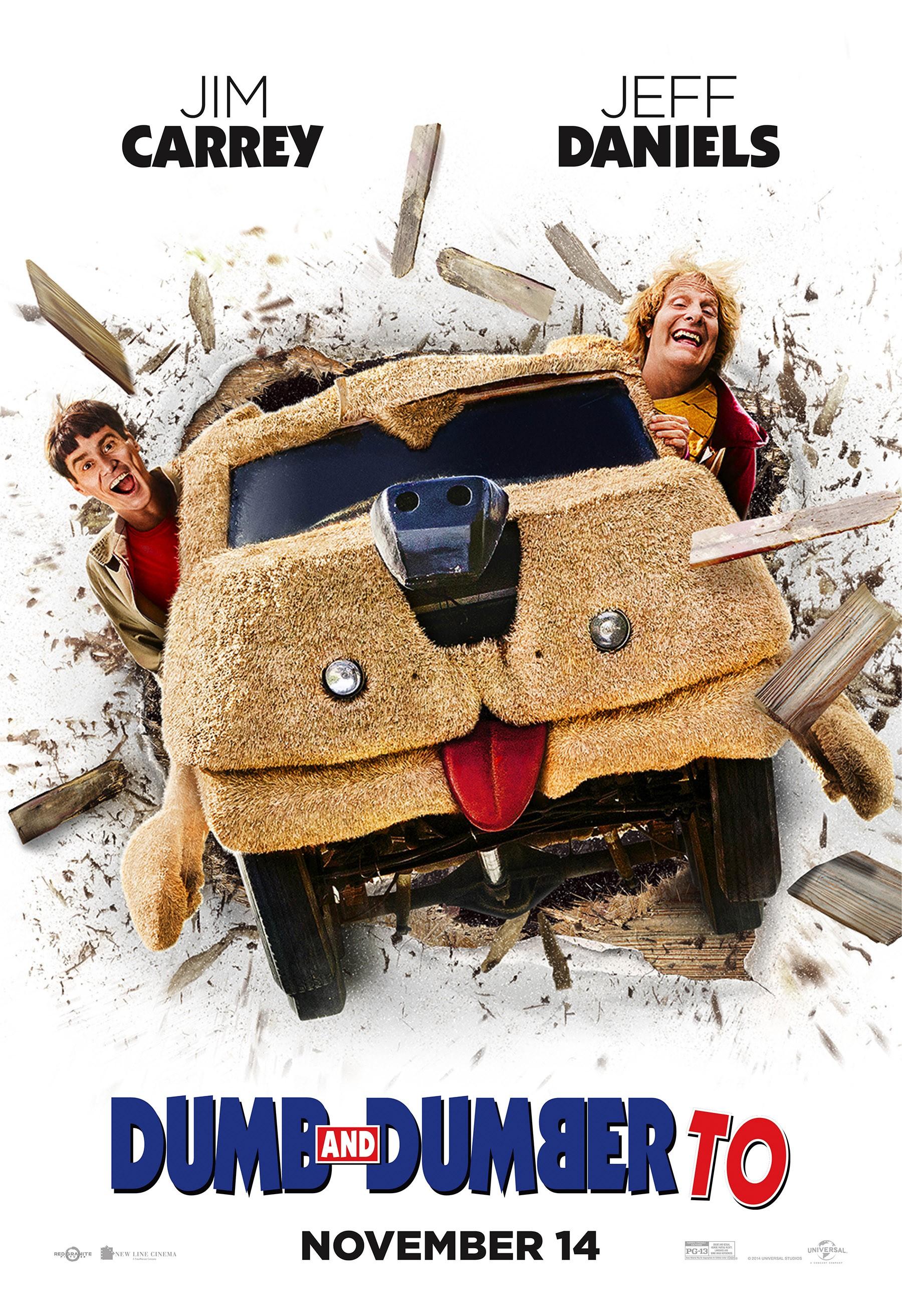 плакат фильма постер Тупой и еще тупее 2