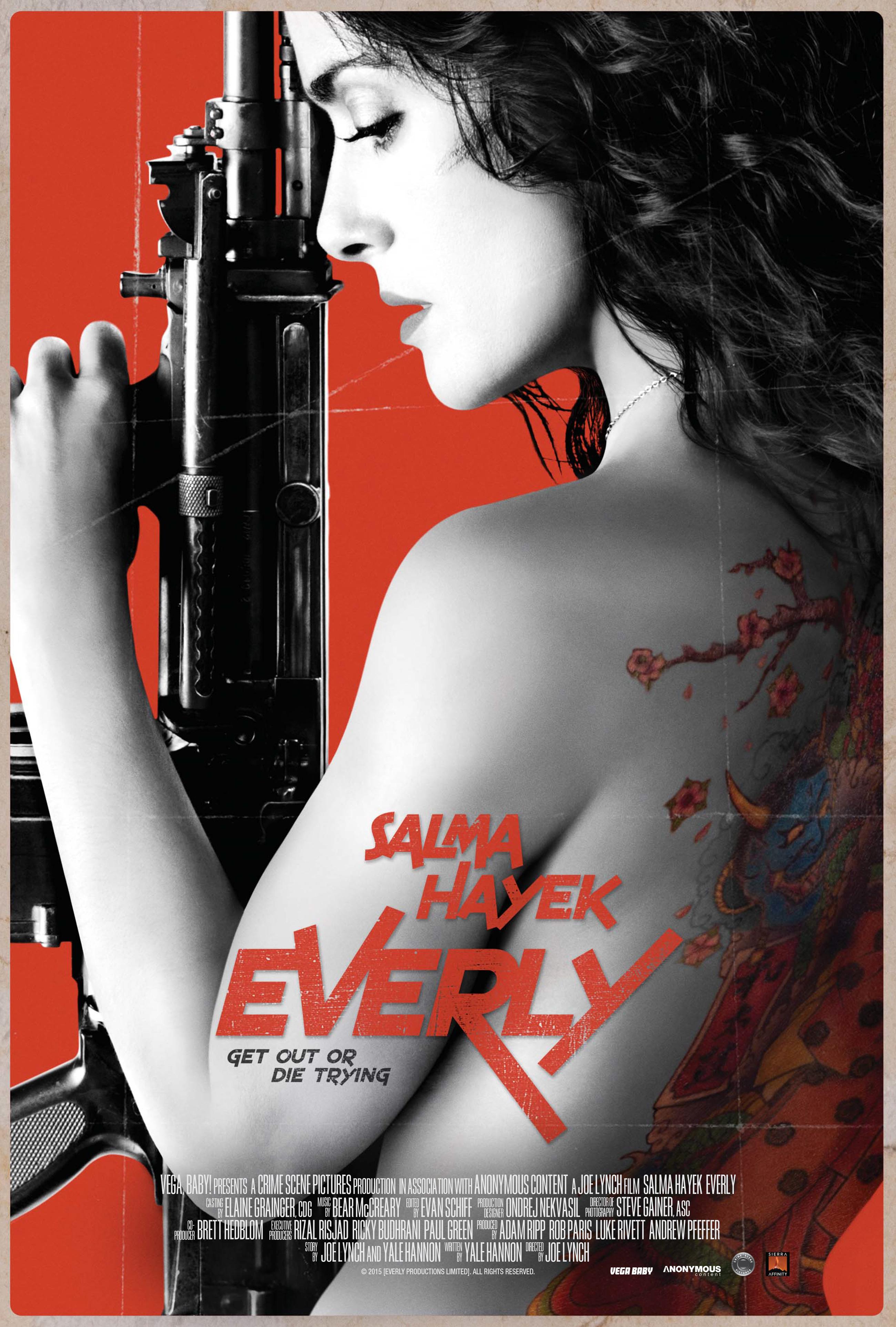 плакат фильма постер Эверли