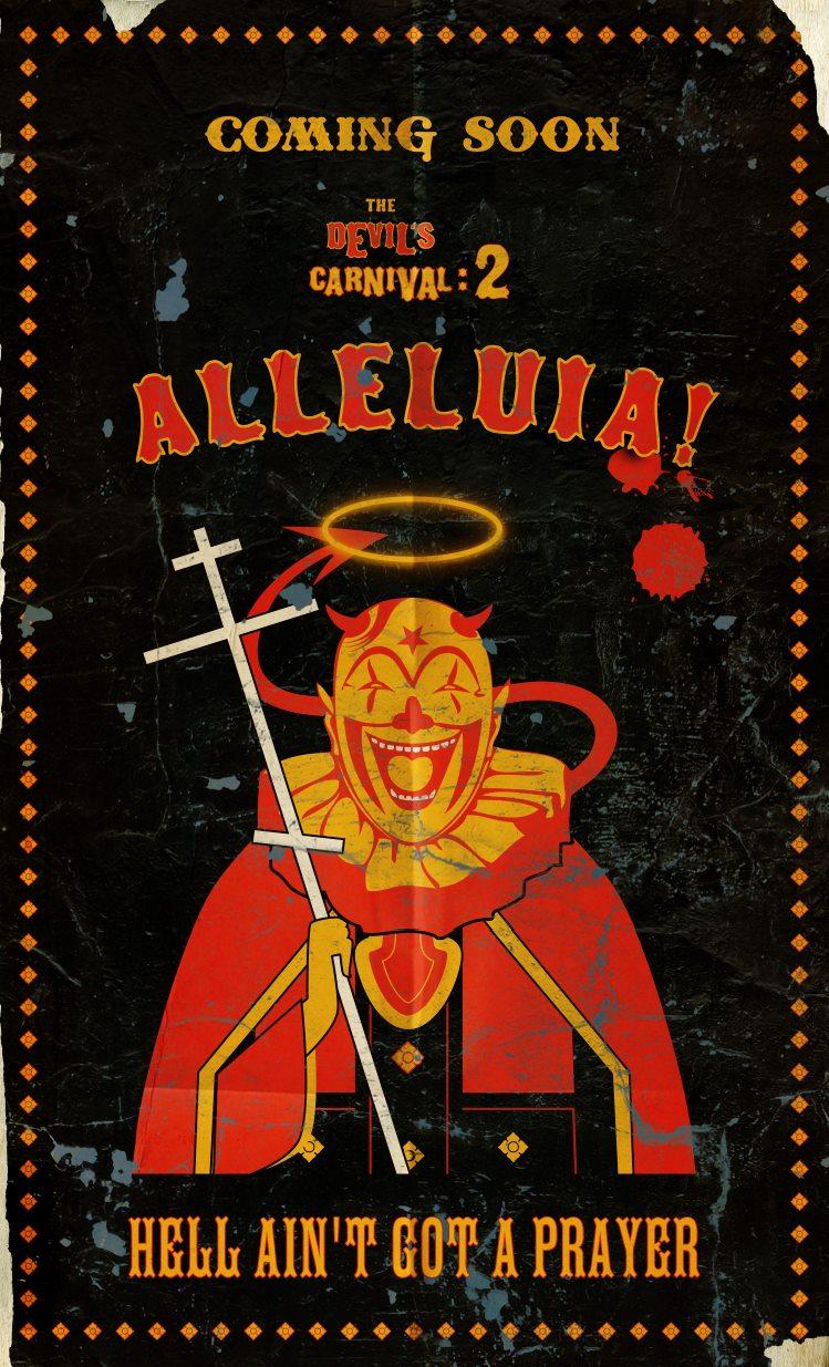 плакат фильма постер Карнавал Дьявола 2*