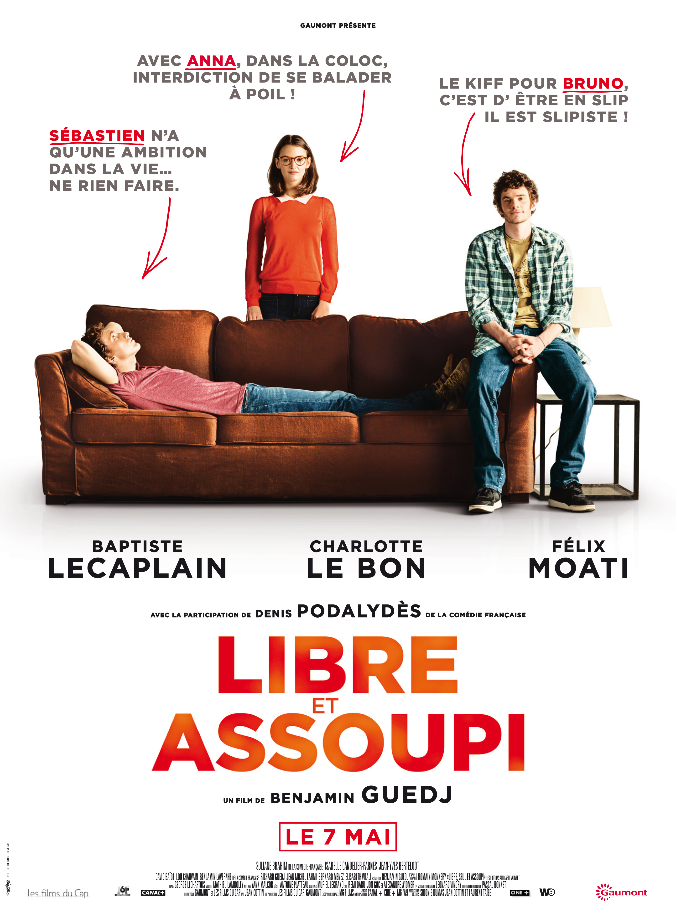 плакат фильма постер Правила жизни французского парня
