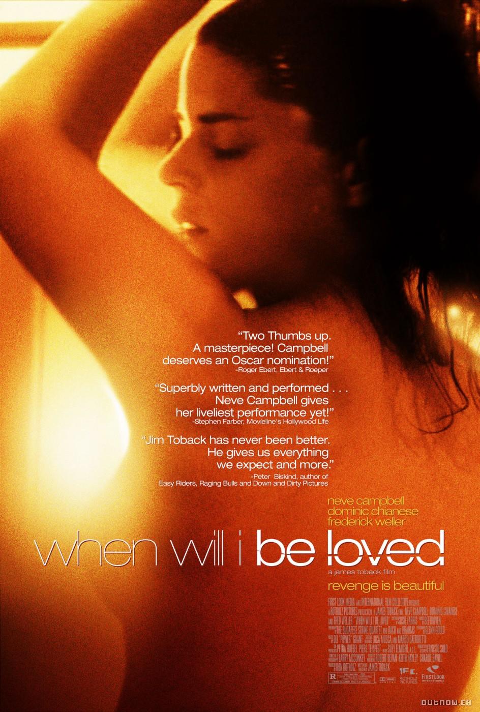 плакат фильма постер Когда меня полюбят