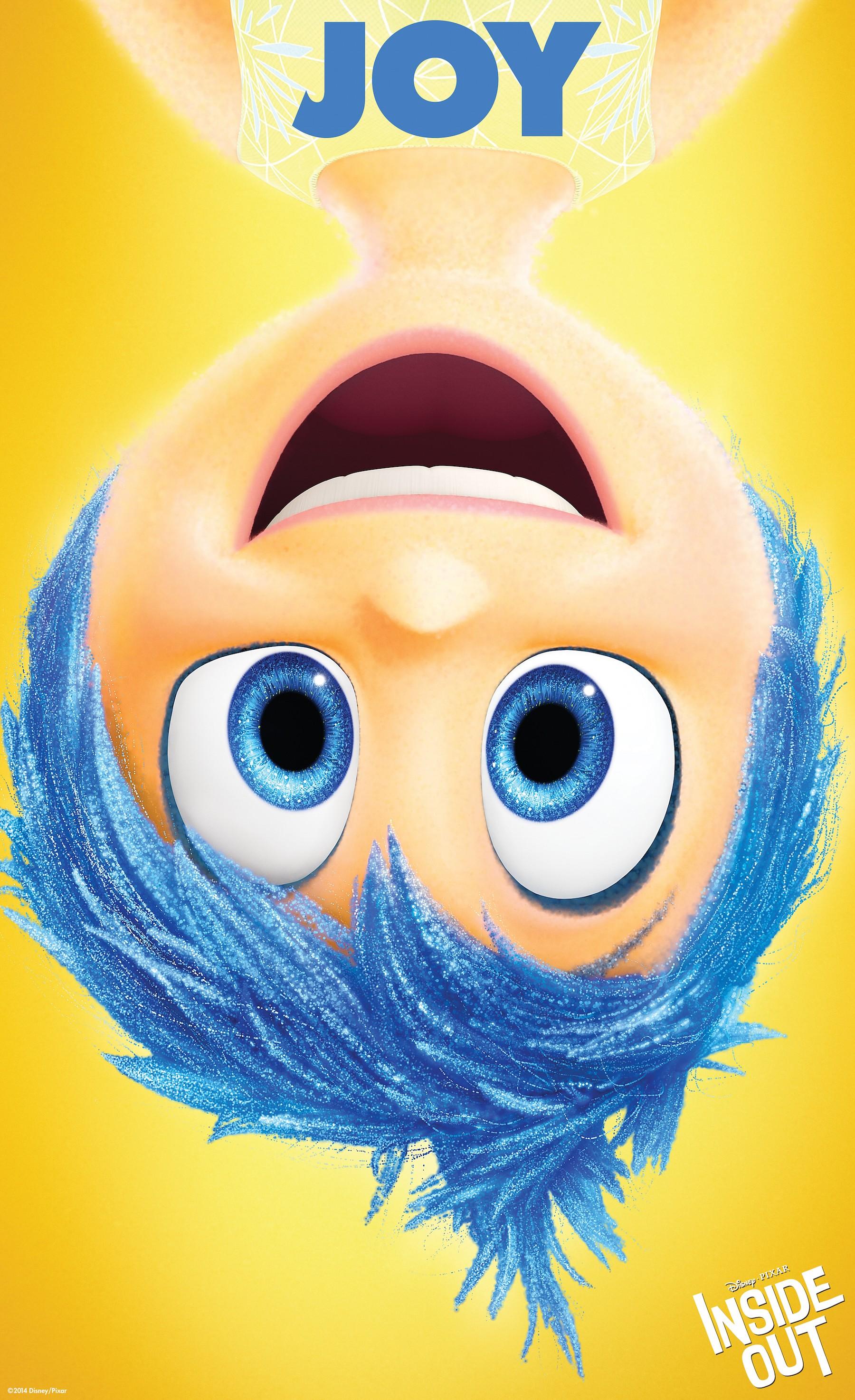 плакат фильма характер-постер Головоломка