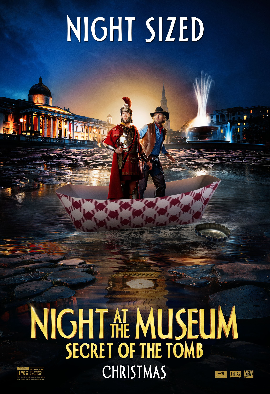 плакат фильма характер-постер Ночь в музее: Секрет гробницы