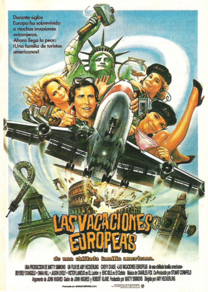 плакат фильма постер Европейские каникулы