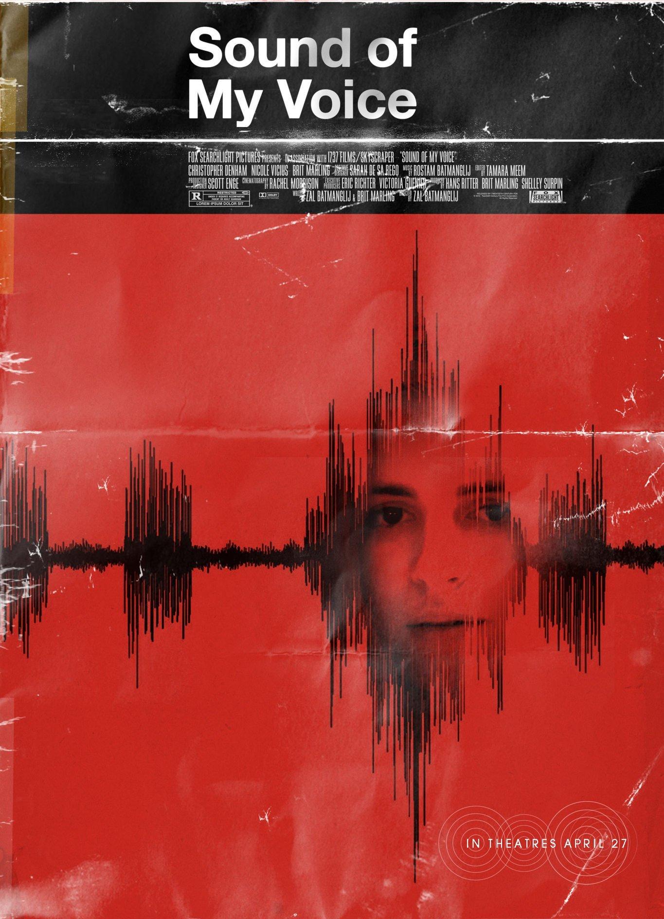 плакат фильма постер Звук моего голоса