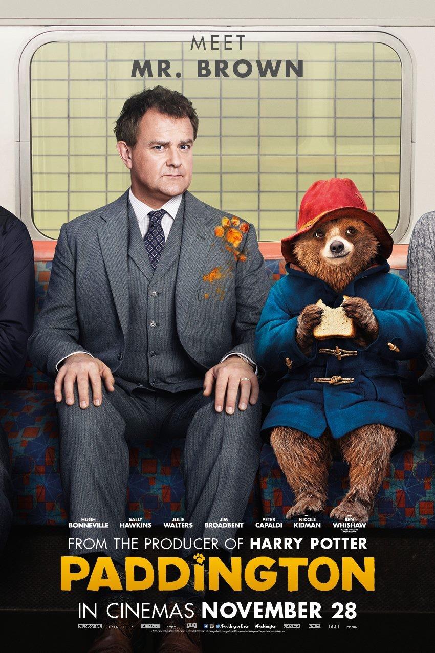 плакат фильма характер-постер Приключения Паддингтона