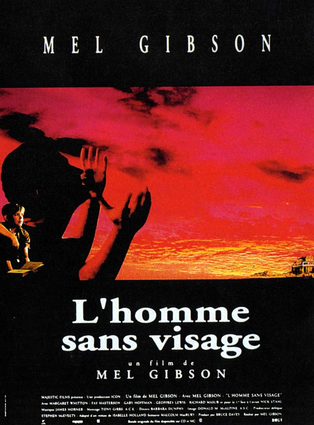 плакат фильма постер Человек без лица