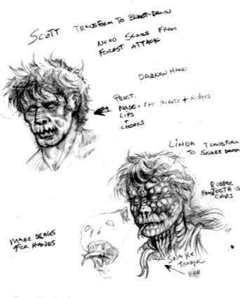 концепт-арты Зловещие мертвецы