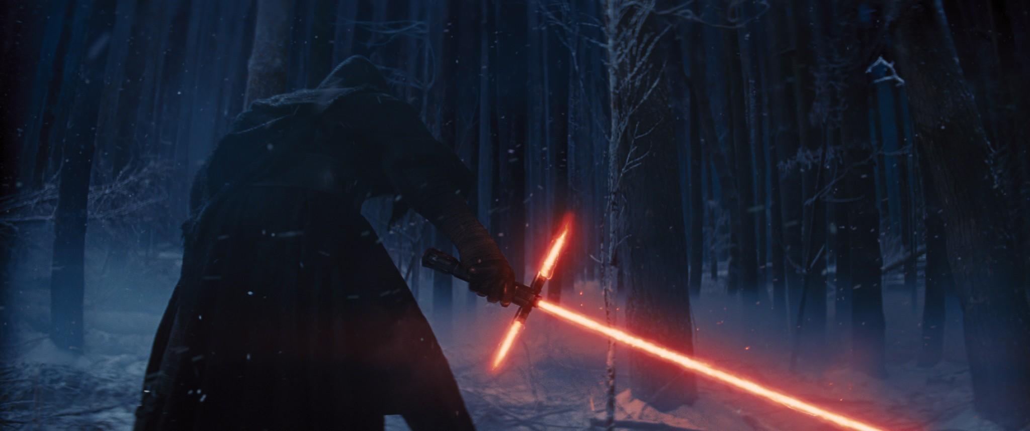кадры из фильма Звездные Войны: Пробуждение Силы