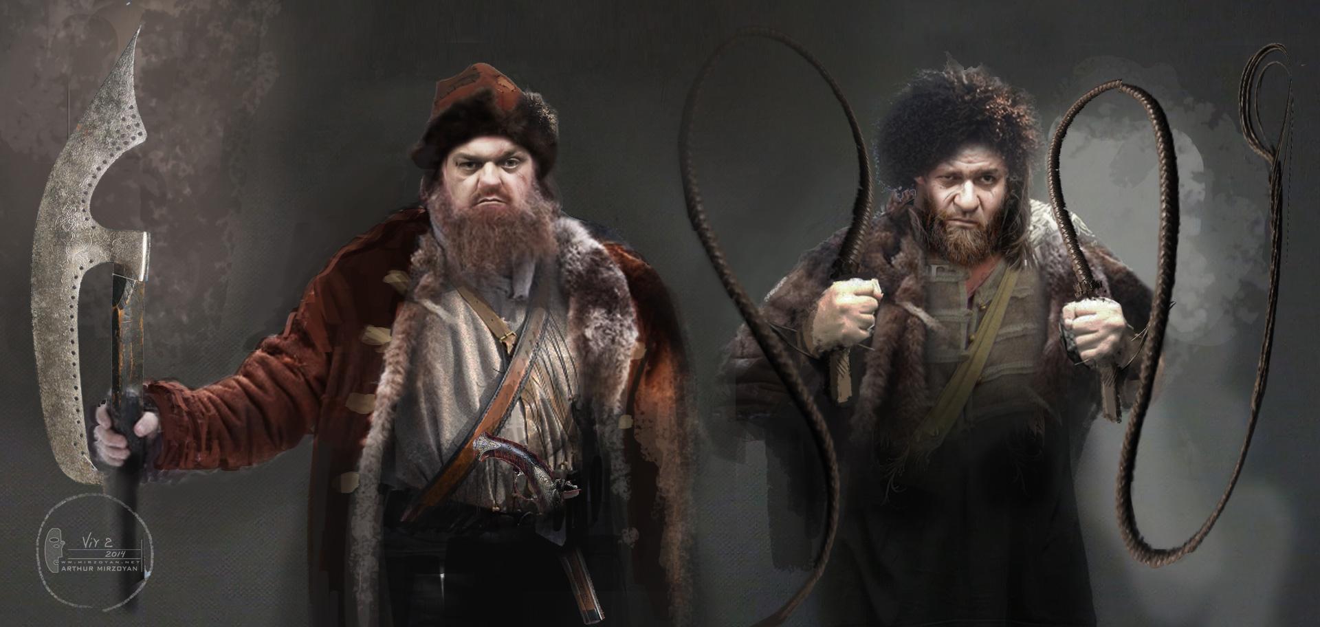 концепт-арты Вий 2: Тайна Печати дракона Михаил Мухин, Вилен Бабичев,