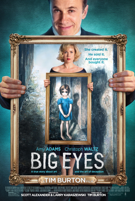 плакат фильма постер Большие глаза